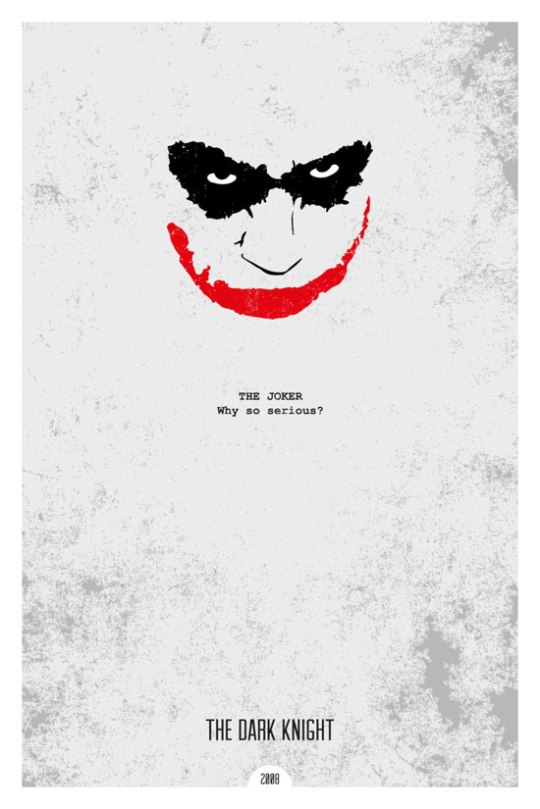 Famous Movie Quotes Awesome Minimalist Posters Illustrating Famous Movie Quotes ArtYears